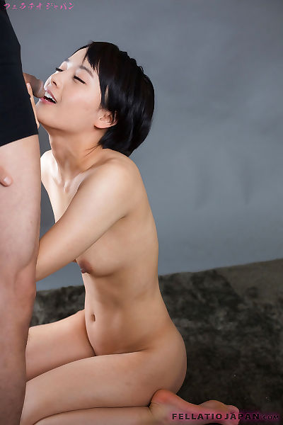 Cute little Asian girl gets..