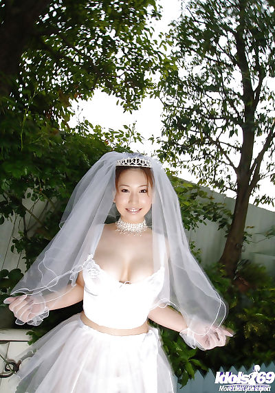 Big busted asian bride Ai..