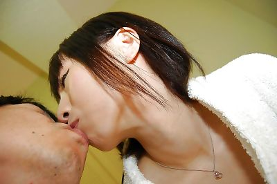 Petite asian teen gets her..