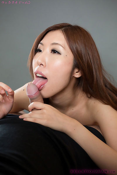 Nude Japanese female spits..