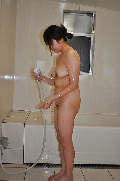 Naughty asian MILF with..