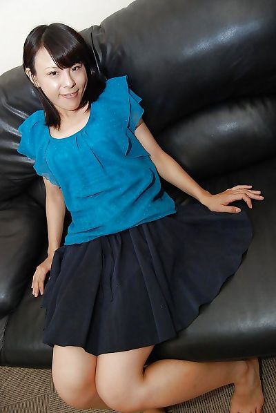 Playful asian teen Miki..