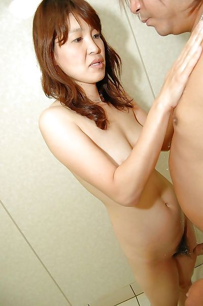Asian MILF has some wet and..
