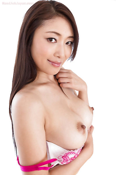 Sexy Japanese girl giving..